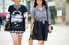 Street Style from Paris Fashion Week Spring 2014