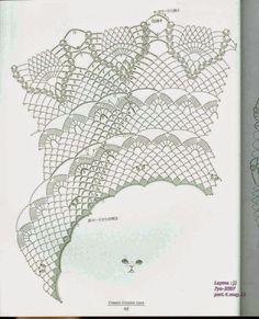 "Photo from album ""Ondori Classic Crochet Lace on Yandex. Crochet Stitches Chart, Crochet Doily Diagram, Filet Crochet, Crochet Doilies, Crochet Lace, Crochet Patterns, Crochet Ideas, Crochet Skirts, Crochet Poncho"