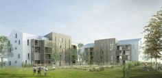 """Mené par ANMA, l'agence d'architecture Nicolas Michelin et Associés, """"Buildtog"""" est un projet de logement social de type passif qui sera construit en France, en Allemagne, en Suède et aux Pays-Bas. ..."""