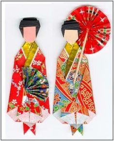 Kimono Origami Tutorial