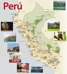 peru map - Google Search