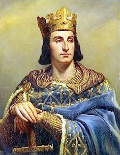 1/7- Philippe II Auguste, Roi de 1180 à 1223 (né en 1165 et mort en 1223)