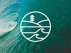 Surf School Logo by Adam Primmer: