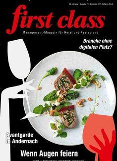 Interview m. Markus Luthe: Die Branche kämpft um ihren digitalen Platz In first class:  #Gastronomie #Digitalisierung