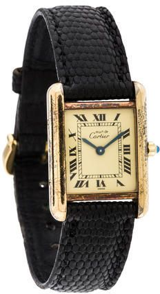 Cartier Must de Cartier Tank Watch
