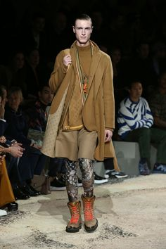 A look from the Louis Vuitton Fall-Winter 2018 show