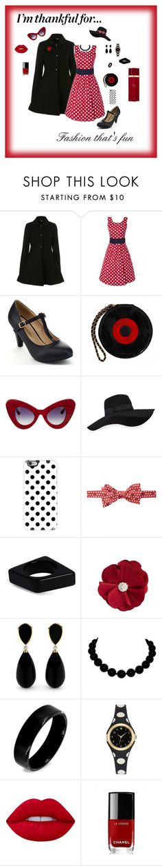 """""""Thankfulness"""" by michelechambers ❤ liked on Polyvore featuring Topshop, Journee Collection, Chanel, Linda Farrow, San Diego Hat Co., Casetify, Vineyard Vines, Marni, Natasha Accessories and West Coast Jewelry"""