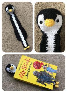 Exceptional Stitches Make a Crochet Hat Ideas. Extraordinary Stitches Make a Crochet Hat Ideas. Crochet Penguin, Crochet Animals, Bookmark Crochet, Crochet Bookmark Patterns Free, Crochet Designs, Crochet Patterns, Crayon Book, Crochet Hood, Book Markers