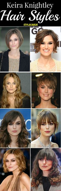 Celebrity Hair Styles! Keira Knightley : Keira Knightley has been among our favorite actors on the Hollywood screen! Whether it was in the Love Actually or the Pirates of the Caribbean, she captivated us on screen with a presence that cannot be ignored. She has changed her looks many times and the look has not spared her hairstyles either…she has had them all…from long to extremely short.
