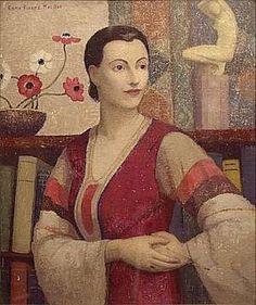 Belgian woman (1930) by Emma Fordyce Macrae