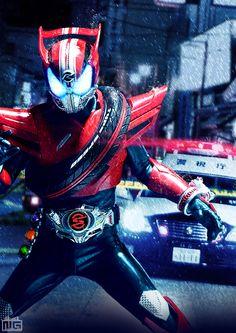 Kamen Rider Drive, Kamen Rider Ex Aid, Kamen Rider Series, Cinema Art, Character Art, Character Design, Robot Cartoon, Ear Warmer Headband, Masked Man