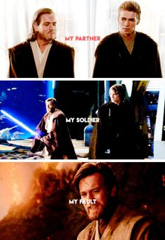 He loved him and felt responsible for his fall to the dark side
