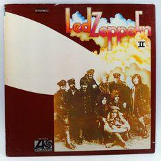 Led Zeppelin II Vinyl Record LP 1969 Psych Hard Rock Heavy Metal