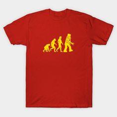Sheldon Robot Evolution - Mens T-Shirt