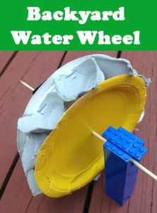 Backyard Water Wheel