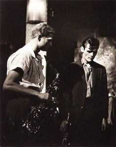 Zoot Sims and Chet Baker, 1955
