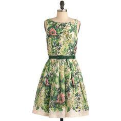 Eva Franco Change of Greenery Dress ($206) ❤ liked on Polyvore