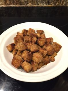 Oven-baked tofu. Toss pressed/cubes tofu in olive or peanut oil and ...
