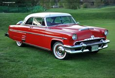 Old Classic Antique Cars 1954 mercury monterrey hardtop 2 door | 1954 Mercury Monterey Images, Information and History | Conceptcarz ...