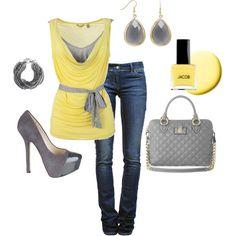 Casual Yellow
