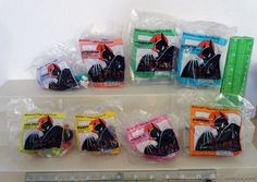 Batman the Animated Series 1993 McDonald's Happy Meal Toys Set of 8 MIP