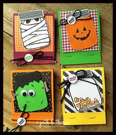 Pink Buckaroo Designs: Halloween Candy Matchbooks featuring Jar of Haunts (Video) Halloween Candy, Holidays Halloween, Happy Halloween, Halloween Stuff, Fall Cards, Holiday Cards, Thanksgiving Cards, Fall Paper Crafts, Cards
