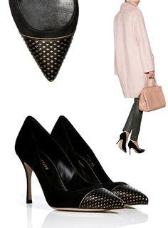 Escarpins Sergio Rossi, automne hiver 2014/2015 Luxury Shoes, Pumps, Heels, Accessories, Fashion, Fall Winter 2014, Choux Pastry, Heel, Moda