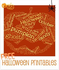 30Free Halloween Printables from The Crafty Scientist @Mel the Crafty Scientist