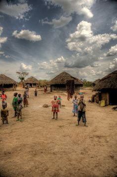 https://flic.kr/p/61JSBu | Children in Village