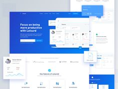 SaaS Software Landing Page by Shahriar Hossain