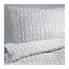 KRÅKRIS Duvet cover and pillowcase(s) - Full/Queen (Double/Queen)  - IKEA