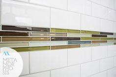 Green and brown glass tiles in Minneapolis bathroom remodel - Cherie Hankinson Tiles, Design Build Company, Remodel, Home Remodeling, Green And Brown, Remodeling Projects, Bathrooms Remodel, Bathroom Design, Brown Glass Tile