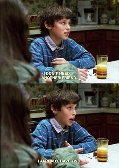 How I feel when people suggest that I socialize more. #freaksandgeeks