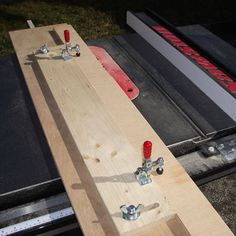 Table Saw Jointer Jig - Free Woodworking Plans for a Table Saw Jointer Jig