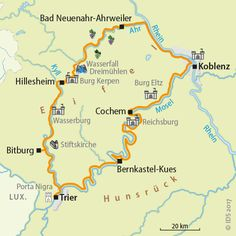 Fietsvakantie Mosel Ahr Eifel Duitsland Aktiva Tours