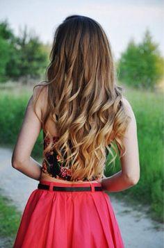 I wish I had hair like this