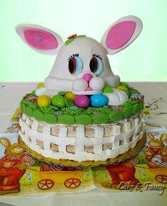 Torta Pasquale coniglio cake e fancy