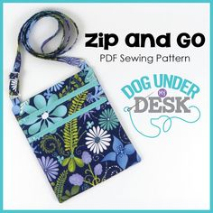 Zip+and+Go+PDF+Sewing+Pattern+by+ErinErickson+on+Etsy,+$12.00