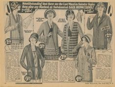 1922 Spring Time Sweater Set, Vests and Cardigans  http://www.vintagedancer.com/1920s/ladies-1920s-sweaters/
