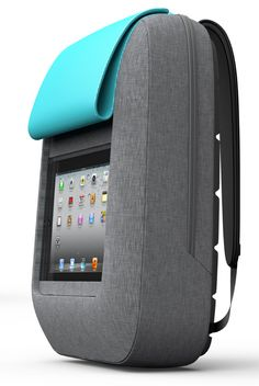 Designer Creates Backpack for Tech-Savvy Cyclists
