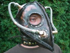 Plague Doctor - Steampunk by Skinz-N-Hydez.deviantart.com on @deviantART