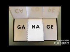 Petit livret à imprimer pour s'amuser avec les syllabes