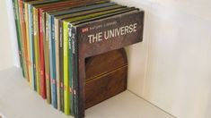 Multi-Book Secret Storage Compartment (I loved stuff like this when I was a kid.)