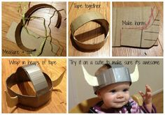 Turning a few cheap finds and household belongings in to an awesome viking costume for kids.