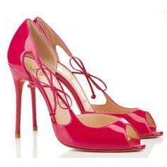 repica shoes - Christian Louboutin Peep Toe Heels on Pinterest