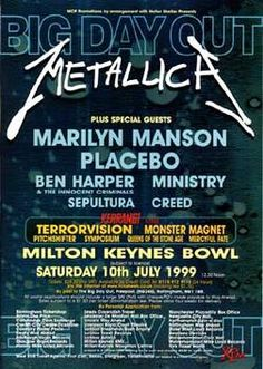Big Day Out 1999 | Milton Keynes.