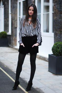 Chic Streetstyle by Zina, from the Blog FASHIONVIBE.
