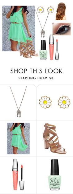 """""""Untitled #42"""" by huntress575 ❤ liked on Polyvore featuring With Love From CA, Monsoon, Dolce Vita, Lancôme and OPI"""