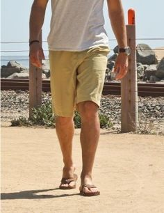 Mens Hawaiian Beach Shorts - This lightweight, flat front hybrid short from Zonal can be worn for either a casual or more dressed up look. It is great for water events... it dries up super fast. Hybrid Swim-Beach Men Shorts - BOARDWALK. 94% Polyester / 6% Spandex. Color: Hemp. Sizes: 30, 32, 36, 38, 40. Double back pockets and belt loops. $38.95 while they last.