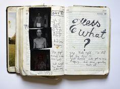 Photographer Nigel Shafran's Work Books.